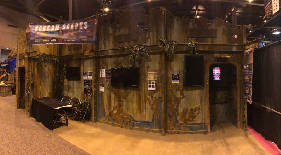 Haunted House Queue Line Videos, Digital Box Office Menus & Custom Audio